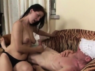 HARDCORE momma fucks her kinky SON and jerks off his  cock