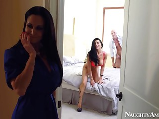 Ava Addams & Romi Rain & Johnny Sins in My Friends Hot Mom