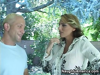 Lisa Lipps & Brett Rockman in My Friends Hot Mom