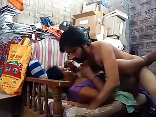 Indian stepmom son fucking in sofa