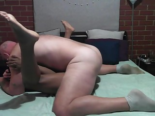 69 and Creampie w/ Ebony Amateur Babe SIa-Soon and Muscular Stud Big Sexy