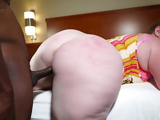 Plump slut with a msssive butt, Mylie Moore got down and dirty with a black guy, Stixxx