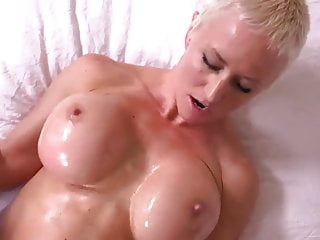 BUSTY MOM GETS A NICE FACIAL!!!