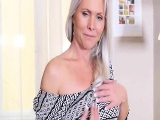 Kathy Anderson MILF Sexy Solo Action